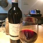 加古川ワインバル - サンシルヴェストロバルベラ、しっかりしたボディです