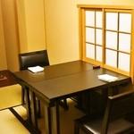 たか田八祥 - 2名用の個室席