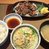 やよい軒 - 料理写真:カットステーキ定食890円(2015.05)