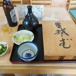富貴亭 - 料理写真:へぎそば(開封前)
