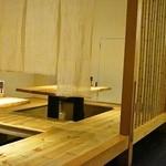 ヤキトリ みずき - 座敷席