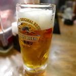 呑ん気 - 生ビール420円