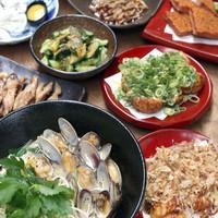 ◆一品料理の品数が豊富◆