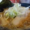 狼煙 - 料理写真:とんこつスープの醤油ラーメン