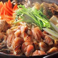 名古屋コーチンの鶏すき鍋