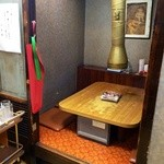 李朝園 - 個室席。