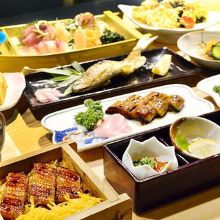 60年間受け継がれてきたこだわりの川魚料理を楽しめます!