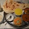 インドレストラン Taji - 料理写真:スペシャルランチ(上から野菜、チキン)