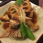 丸鮨別館まるやま - 鯛の煮魚
