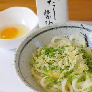 三里うどん本舗 - 料理写真:釜玉
