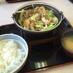 吉野家 - 牛バラ野菜焼 590円☆(第二回投稿分①)