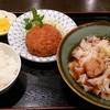 釜半 - 料理写真:きしめん定食(冷)730円