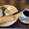 ビストロ グリーン - 料理写真:エッグサンドセット、ブレンドコーヒー400円