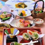和食仲むら - 婚礼用コース料理一例です