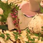 和食 イワカムツカリ - 本日のお刺身 (鱸) (2015/05)