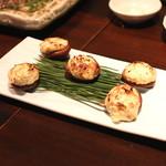 和食 イワカムツカリ - 焼椎茸のクリームチーズ詰め (2015/05)
