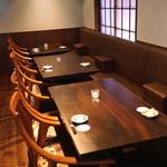 和食 イワカムツカリ - 2階テーブル席 (2015/05)
