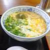峰 - 料理写真:玉子うどん