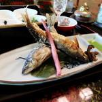 玉貴 - 鮎塩焼き