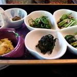 玉貴 - 山菜いろいろ