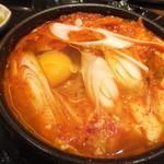チャンチ - 海鮮キムチ:辛さ普通