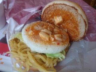 ロッテリア - 蒙古タンメン&定食バーガー。オープン‼