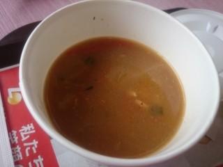 ロッテリア - スープ。あっぷ。