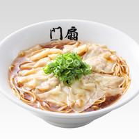 京都祇園 門扇 - 鶏白湯 醤油雲呑(ワンタン)麺
