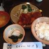 とんかつ いけだ - 料理写真:ロースカツ定食(870円)
