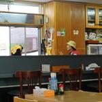 食堂花笠 - 開店時間を過ぎるもマイペースなおばぁ達