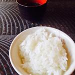 田舎 - 御飯、お味噌汁