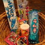 池袋駄菓子バー - 駄菓子いろいろ1