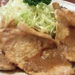 つかさ - 豚ロース生姜焼定食(1,000円)