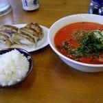 一刻家 - 料理写真:坦々麺のランチセット