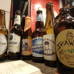 ウィスラーカフェ - コカニは売り切れでしたが、スキャンダルラガーというカナダビールがありました