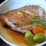 カフェ えつぼ - 笑いランチのお魚料理