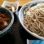 手打 そば処 やまなみ - 鶏南蛮ざる蕎麦 大盛り1150円