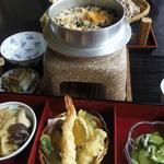 麺屋 喜幸 - あさり釜飯定食¥1200