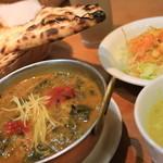 スーリヤチャンドラ - 料理写真:日替わりランチ