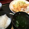 海鮮問屋仲見世 - 料理写真:鶏天おろしポン酢定食500円