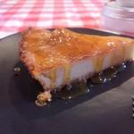 フランスカレー - カラメルチーズケーキ 300円