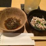 博多華味鳥 - おきゅうと&酢モツ