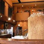 ラ・パウザ 小麦の家 - 店内 窯