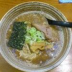 錦堂 - 醤油豚骨+魚介系