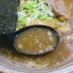 錦堂 - 背脂たっぷりスープ