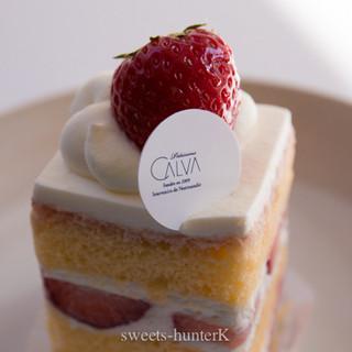 CALVA - 料理写真:苺のガトー