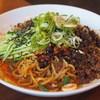 万豚記 - 料理写真:黒担担涼麺