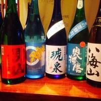 【西の日本酒】取り揃えております