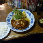 ポロロッカ - 料理写真:スペシャルハンバーグ定食1280円