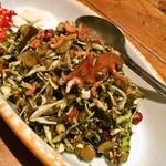 オリエンタルキッチン マリカ - お茶っ葉のサラダ